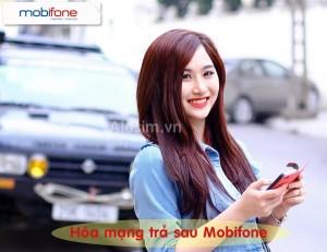 Mobifone khuyến mãi hòa mạng trả sau tháng 8/2016