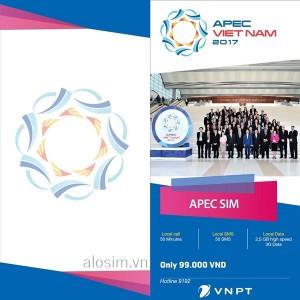 Vinaphone triển khai sim APEC ưu đãi khủng 2017