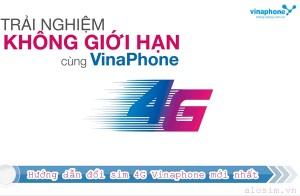 Hướng dẫn đổi sim 4G Vinaphone mới nhất 2017